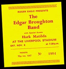 Edgar Broughton support